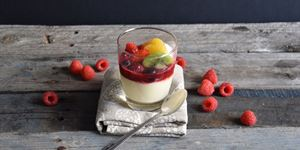 Spiced Panna Cotta (G)