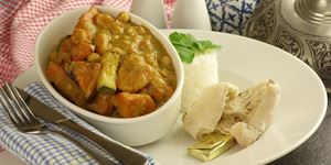Sweet Potato Curry (V, G)