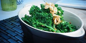 Broccolini Sauteed with Garlic & Lemon Zest (Serves 3) (V, G)