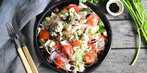 Greek Salad - Side Serve (V, G)